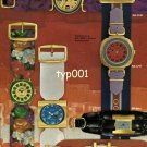 SINDACO - 1968 - WATCH MODELS VINTAGE PRINT AD