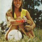 PEPSI COLA - 1982 - PEPSI ALWAYS WITH ME GIRL WITH A BALL TURKISH PRINT AD