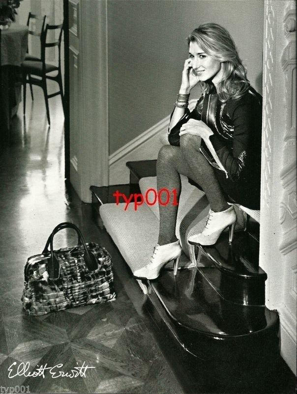 ELIOTT ERWITT - 2010 -  SEXY LADY IN LEATHER HOSIERY PRINT AD