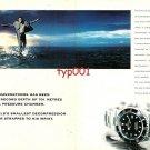 ROLEX - 1998 - COMEX DEEP SEA DIVER THEO MAVROSTOMOS - SEA DWELLER PRINT AD