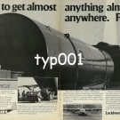 LOCKHEED - 1979 - SUPER HERCULES L100-300 GET ALMOST ANYTHING ANYWHERE PRINT AD