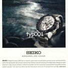 SEIKO - 2010 - DEDICATED TO PERFECTION TURKISH PRINT AD