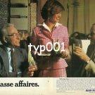 AIR FRANCE - 1980 - STEWARDESS LA CLASSE AFFAIRES PRINT AD - 2