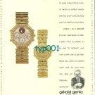 GERALD GENTA - 1988 - A DREAMER IN GOLD PRINT AD