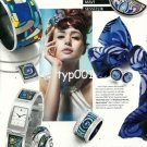 FREY WILLE - 2010 - BLUE SILENCE WATCH AND JEWELLERY TURKISH PRINT AD