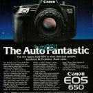 CANON - 1988 - THE AUTO FANTASTIC EOS 650 PRINT AD