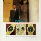 GUCCI - 1988 - A TIME FOR GUCCI PRINT AD