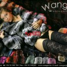 WANGER FURS - 2010 - SEXY LADY IN CHINCHILLA FUR COAT PANTIES HOSIERY PRINT AD