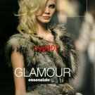 JOHN RICHMOND - 2010 -  SEXY LADY IN FUR LINED LEATHER COAT PRINT EDITORIAL