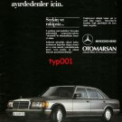 MERCEDES BENZ - 1986 FOR THOSE WHO CAN DIFFERENTIATE A MERCEDES TURKISH PRINT AD