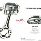 BMW - 1997 SERIES 5 ALUMINIUM ALLOY ENGINE MORE ADRENALIN TURKISH PRINT AD