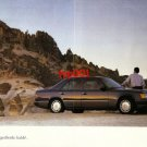 MERCEDES BENZ - 1990 FINALLY COMPETITION IS FAR BEHIND TURKISH PRINT AD