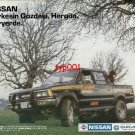 NISSAN - 1986 EVERYBODY'S FAVORITE 4WD PICKUP TURKISH PRINT AD