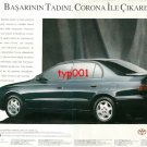 TOYOTA - 1993 TASTE OF SUCCESS WITH CORONA TURKISH PRINT AD - 02