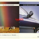 RENAULT - 1995 SOME CREATURES ARE RECOGNIZED BY THEIR LINES TURKISH PRINT AD