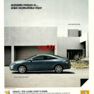 RENAULT - 2009 LAGUNA COUPE BE A PART OF CHANGE TURKISH PRINT AD