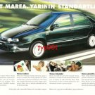 FIAT - 1997 MAREA TOMORROW'S STANDARDS TURKISH PRINT AD