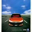 PEUGEOT - 1999 206 YOU ARE TOTALLY RIGHT TURKISH PRINT AD