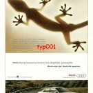 AUDI - 1997 A4 QUATTRO PERFECT GRASP IS A NATURALGIFT FOR US TURKISH PRINT AD