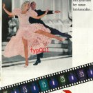 PARIZIEN - 1992 TURKISH PANTYHOSE GINGER ROGERS & FRED ASTAIRE PRINT AD - TYPE 1