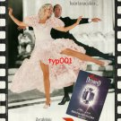 PARIZIEN - 1992 TURKISH PANTYHOSE GINGER ROGERS & FRED ASTAIRE PRINT AD - TYPE 2