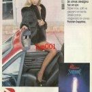 PARIZIEN - 1992 TURKISH PANTYHOSE & FUR ELEGANT MOMENTS PRINT AD