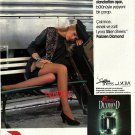 PARIZIEN - 1992 TURKISH PANTYHOSE DIAMOND EXCEEDING WORLD STANDARDS PRINT AD