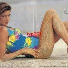 ZEKI TRIKO - 1992 - STEPHANIE SEYMOUR ZEKI SWIMSUITS AT WORLD BEACHES PRINT AD