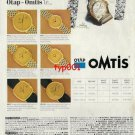 OMEGA - 1992 - THE SYMBOL OF PERFECTION TURKISH PRINT AD
