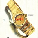 OMEGA - 1992 - WHEN YOU KNOW YOUR WORTH CONSTELLATION TURKISH PRINT AD