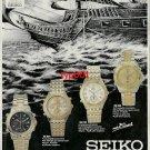 SEIKO - 1992 - SPORTS TECH BARCELONA OLYMPICS TURKISH PRINT AD