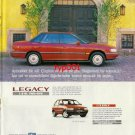 SUBARU - 1991 LEGACY NOT LIKE ANY OTHER CAR TURKISH PRINT AD