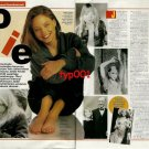 JODIE FOSTER - 1992 A HOLLYWOOD INTELLECTUAL TURKISH PRINT ARTICLE