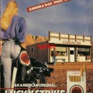 LUCKY STRIKE - 1994 - AN AMERICAN ORIGINAL TURKISH PRINT AD