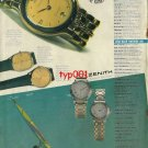 ZENITH - 1992 - SUMMITS OF TIME TURKISH PRINT AD