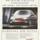 OPEL - 1992 - VECTRA A WHOLE DIFFERENT WORLD TURKISH PRINT AD