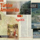 CAMEL TROPHY - 1992- TURKISH TEAM AT THE 92 GUYANA CAMEL TROPHY PRINT ARTICLE