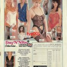 DAY & NIGHT - 1992 - SUPER SEXY LINGERIE HOSIERY PANTIES PRINT AD