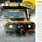 CAMEL TROPHY - 1989 - WINNER TURKISH TEAM '88 SULAWESI CAMEL TROPHY PRINT ARTICLE