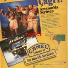 CAMEL TROPHY - 1988 - APPLICATION TO '89 AMAZON CAMEL TROPHY PRINT AD