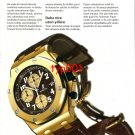 AUDEMARS PIGUET - 2004 - SINCE 129 YEARS TURKISH ADVERTORIAL 10 PAGES