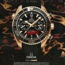 OMEGA - 2013 - GOLD SEAMASTER PROFESSIONAL CERAGOLD PRINT AD
