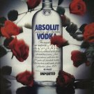 ABSOLUT - 1990 - ABSOLUT BRAVO PRINT AD