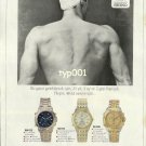 SEIKO - 1992 IT TOOK HIM 21 YEARS 3 MONTHS 2 DAYS ALL FOR 48.62 SECONDS PRINT AD