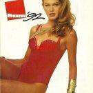 KOM - 1992 - '92 FASHION IN SWIMWEAR RED ONE PIECE PRINT AD