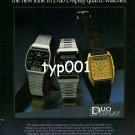 SEIKO - 1980 - NEW LOOK IN DUO DISPLAY QUARTZ WATCHES PRINT AD