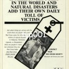 RED CROSS - 1980 - 11 MILLION REFUGEES AND NATURAL DISASTERS RAISE TOLL OF VICTIMS PRINT AD
