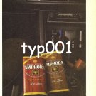 AMPHORA - 1980 - QUALITY IS A WORD TOO OFTEN ABUSED TOBACCO PRINT AD
