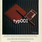 S.T. DUPONT - TIME MAG - 1980 - FOR MULTINATIONAL MARKETING PRINT AD
