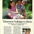 DAEWOO - 1980 - TOMORROW BELONGS TO THEM  PRINT AD